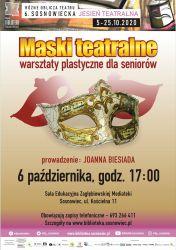 Plakat -  Maski teatralne