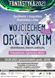 Orliński spotkanie plakat
