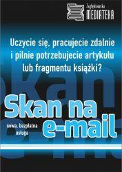 Plakat reklamujący usługę Skan na e-mail
