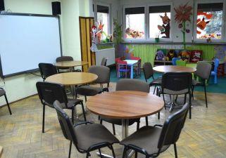 Wnętrze biblioteki dziecięcej
