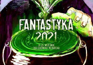 Fantastyka2021 - grafika promująca projekt